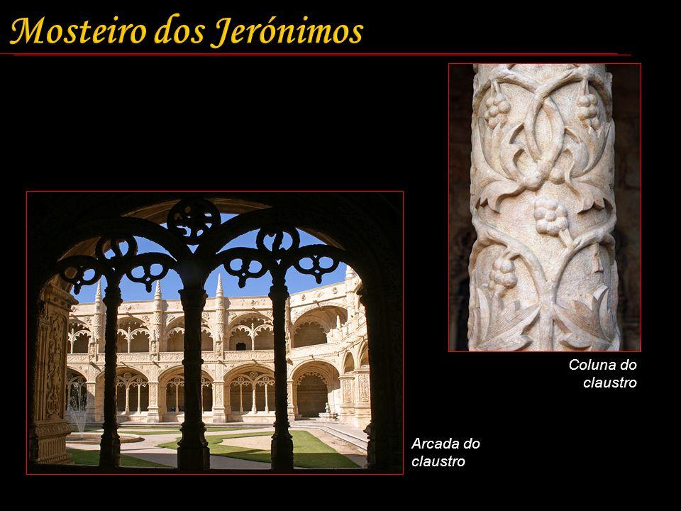 Arcada do claustro Coluna do claustro
