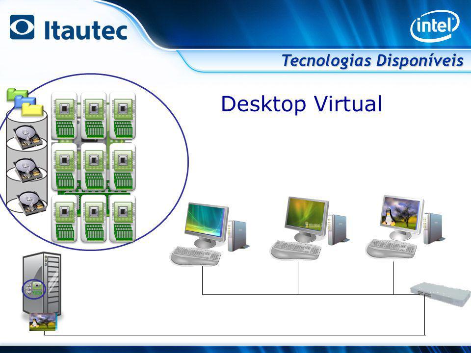 Tecnologias Disponíveis Desktop Virtual
