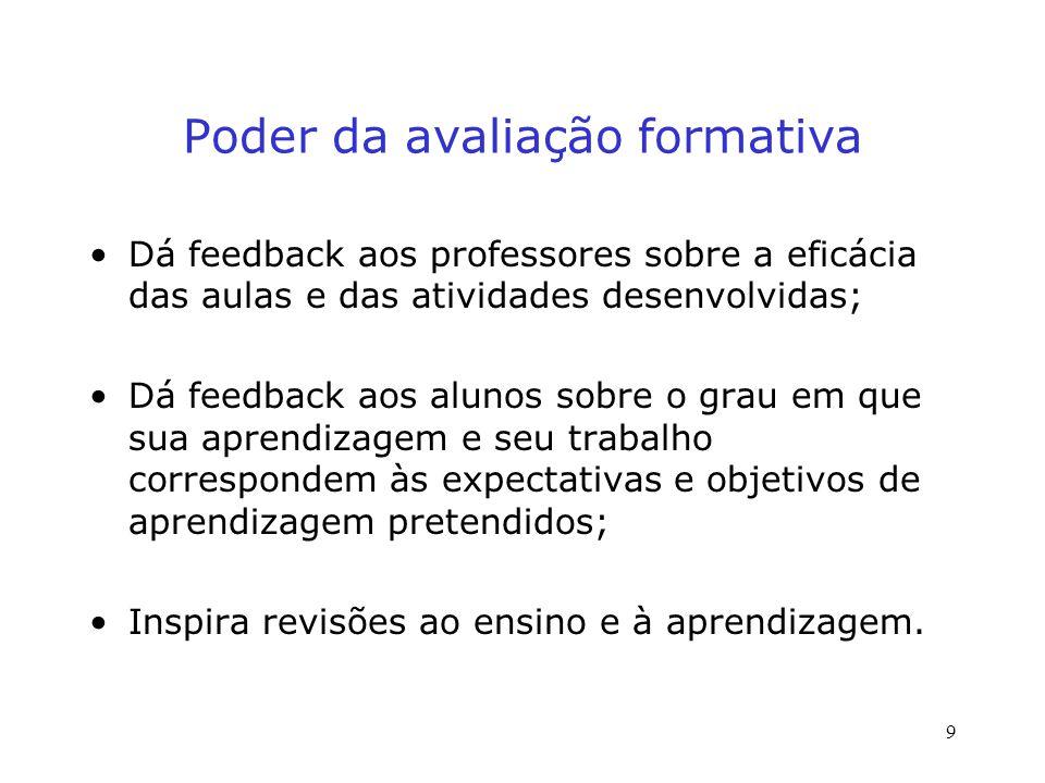 Fase 3: Responder Para motivar os estudantes a se tornarem ativamente envolvidos e capitalizar o tempo usado na avaliação, feche o loop do feedback, fazendo-os conhecer o que você aprendeu do exercício da TASA e que diferença essa informação irá fazer.