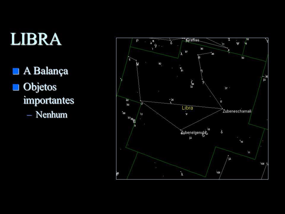 ESCORPIÃO n Nebulosa ao redor de Antares