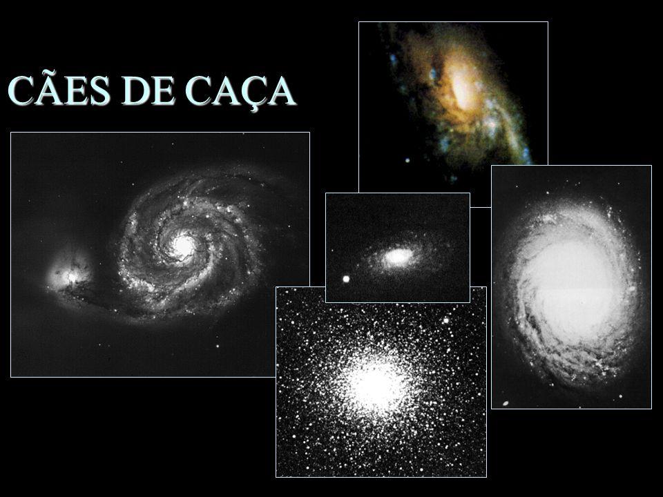 CÃES DE CAÇA n Animais míticos n Objetos –Gal. do Redemoinho –M63, M94 –M106 –M3