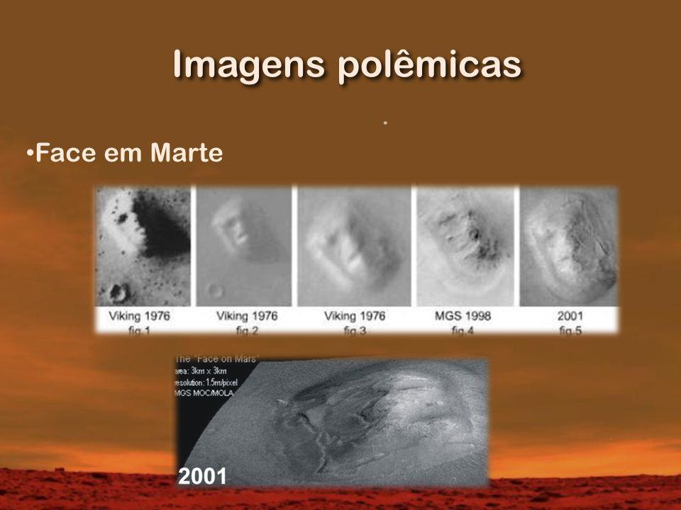 Imagens polêmicas Face em Marte