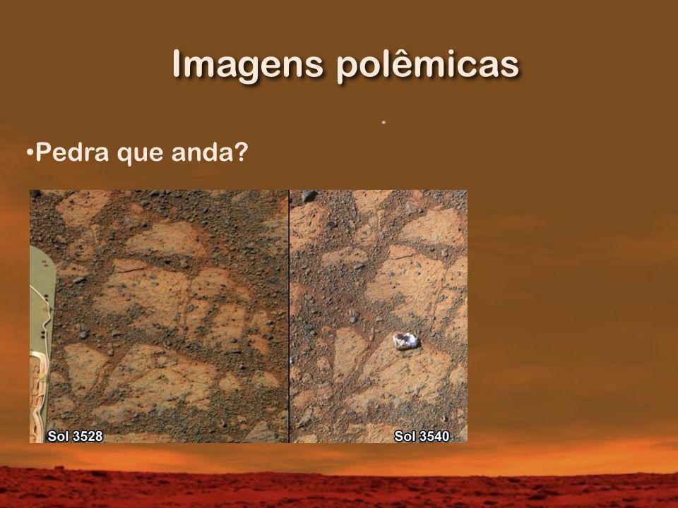 Imagens polêmicas Pedra que anda?
