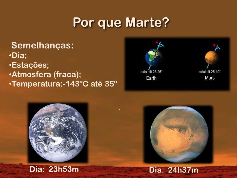 Por que Marte.