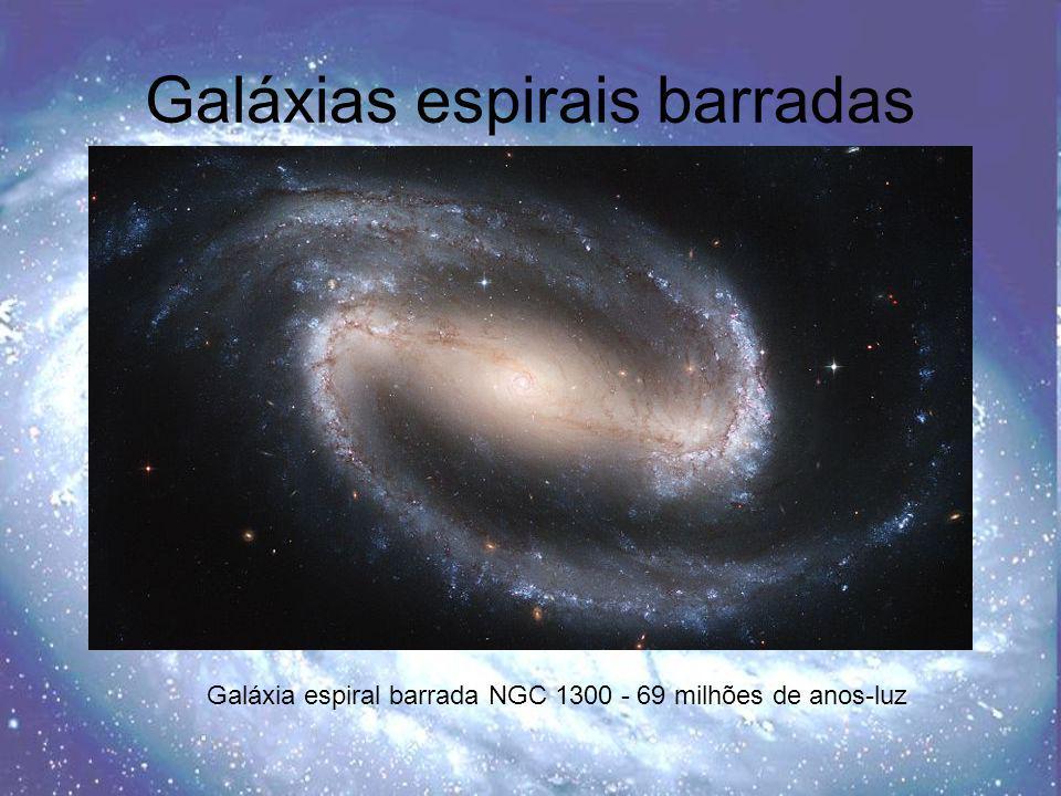 Galáxias elípticas Galáxia elíptica gigante NGC 1316 – 70 milhões de anos-luz