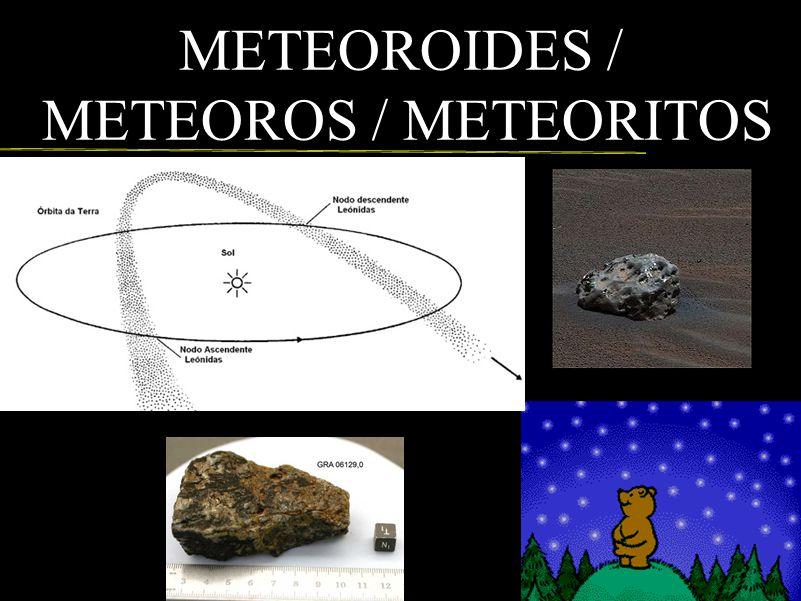METEOROIDES / METEOROS / METEORITOS