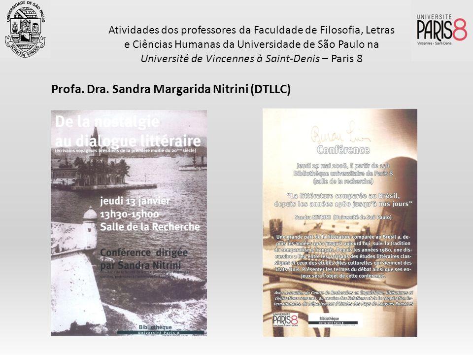 Atividades dos professores da Faculdade de Filosofia, Letras e Ciências Humanas da Universidade de São Paulo na Université de Vincennes à Saint-Denis