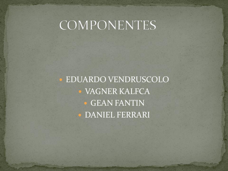 EDUARDO VENDRUSCOLO VAGNER KALFCA GEAN FANTIN DANIEL FERRARI