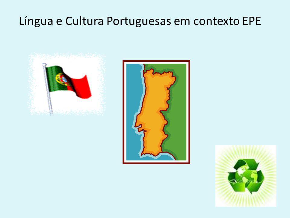 Língua e Cultura Portuguesas em contexto EPE