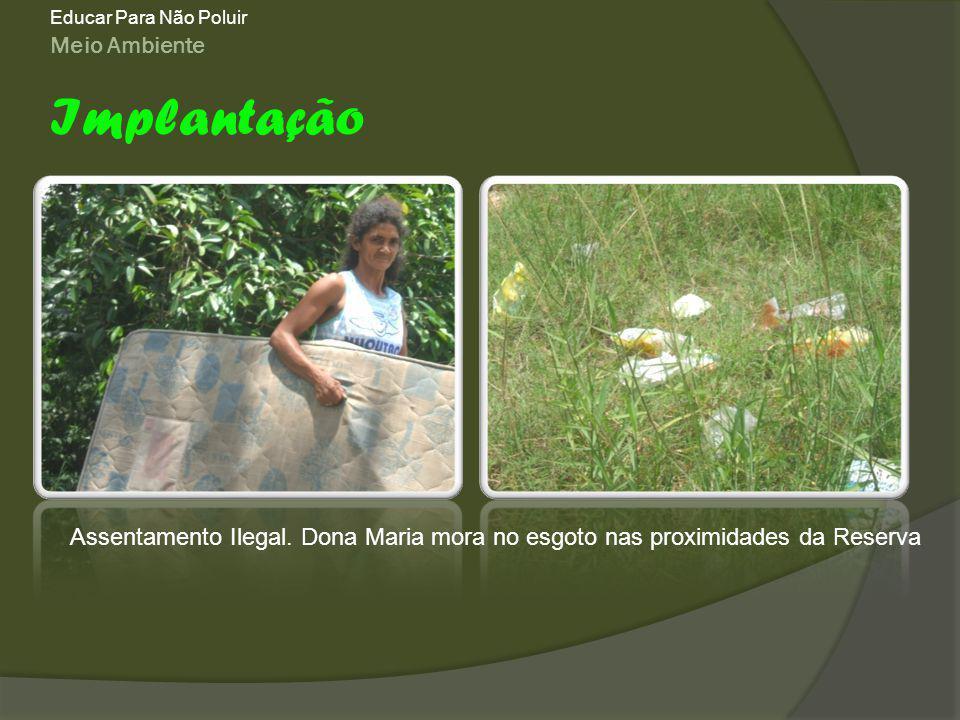 Meio Ambiente Educar Para Não Poluir Implantação Assentamento Ilegal.