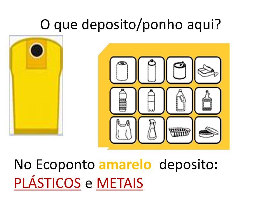 O que é que Portugal faz pela RECICLAGEM Utiliza os ECOPONTOS. O que são os ECOPONTOS? Os ECOPONTOS são contentores onde se deposita o lixo obedecendo