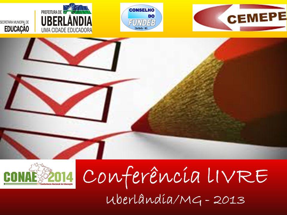 Conferência lIVRE Uberlândia/MG - 2013