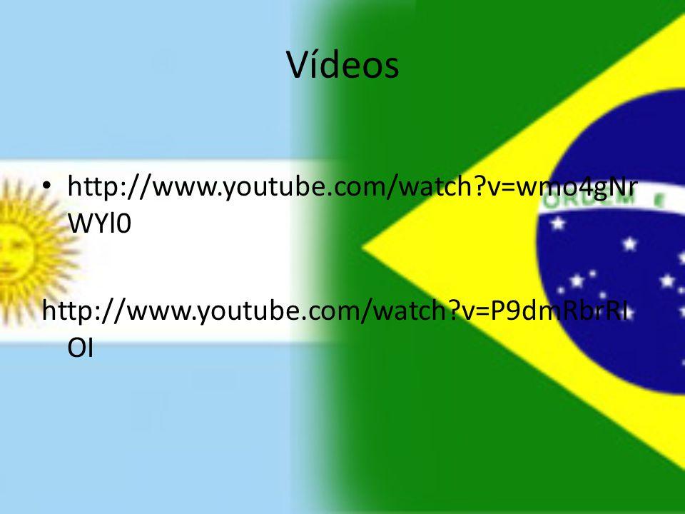 Vídeos http://www.youtube.com/watch?v=wmo4gNr WYl0 http://www.youtube.com/watch?v=P9dmRbrRI OI
