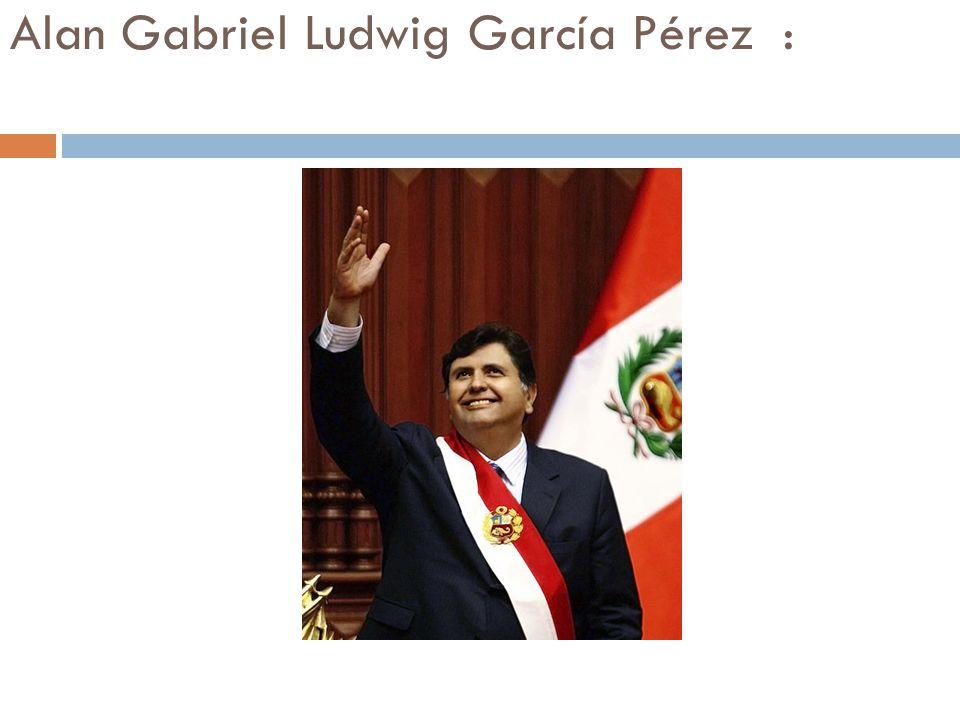 Alan Gabriel Ludwig García Pérez :