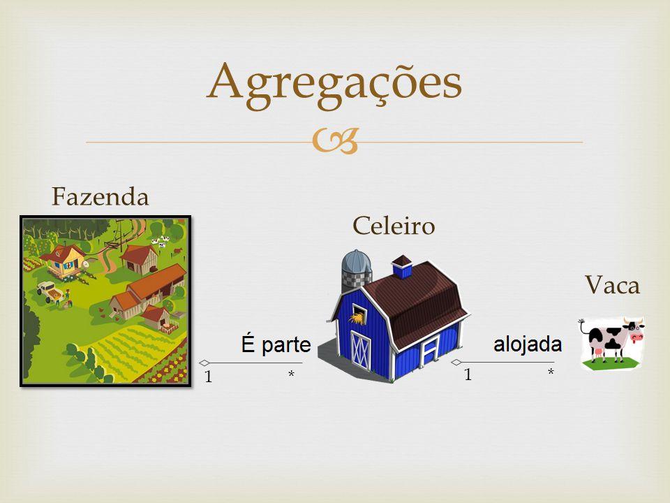 Agregações 1 * Celeiro Vaca Fazenda