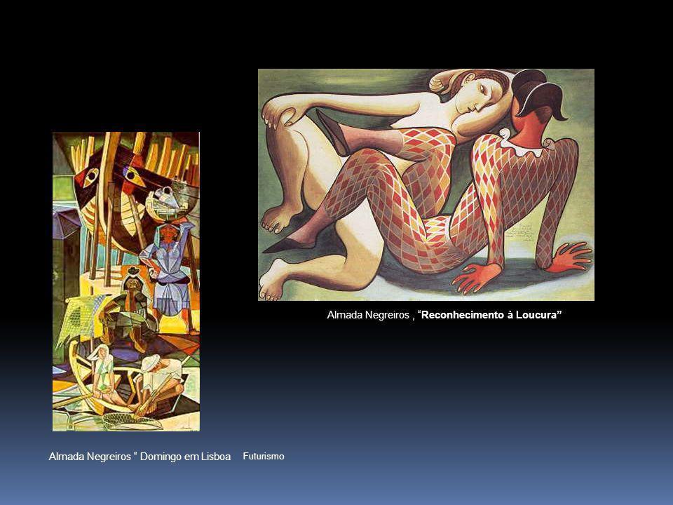 CABEÇA, Guilherme Santa –Rita ( síntese entre o cubismo e o futurismo)
