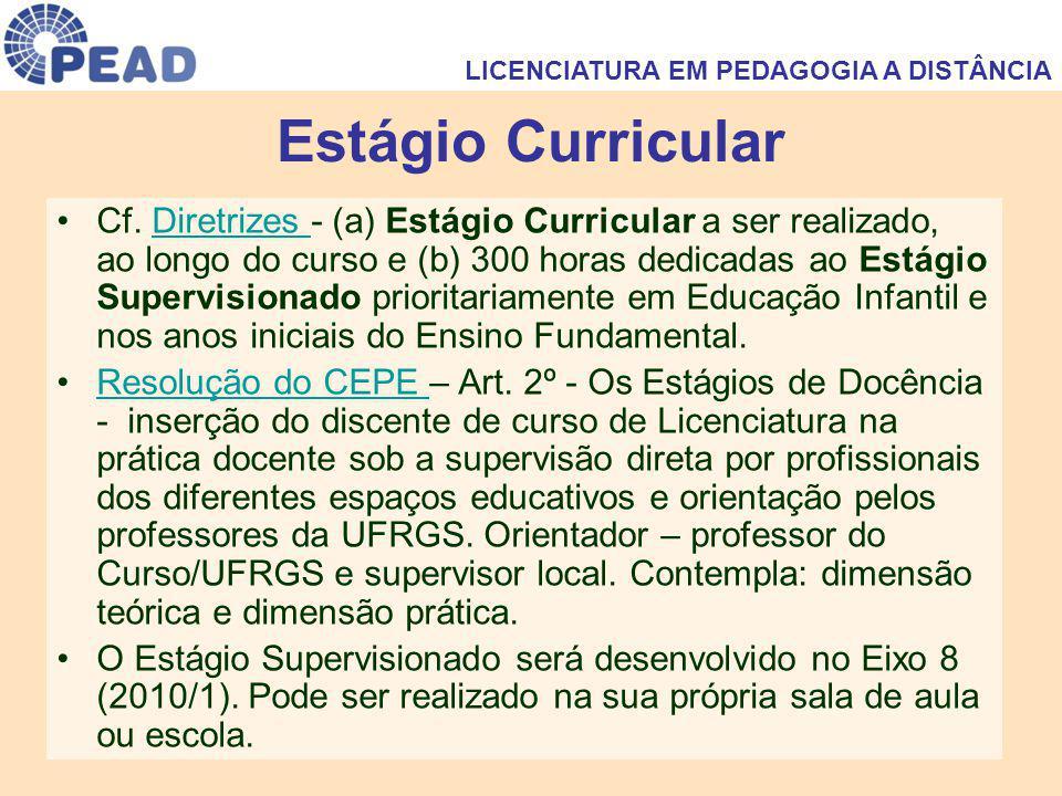 Estágio Curricular Cf.