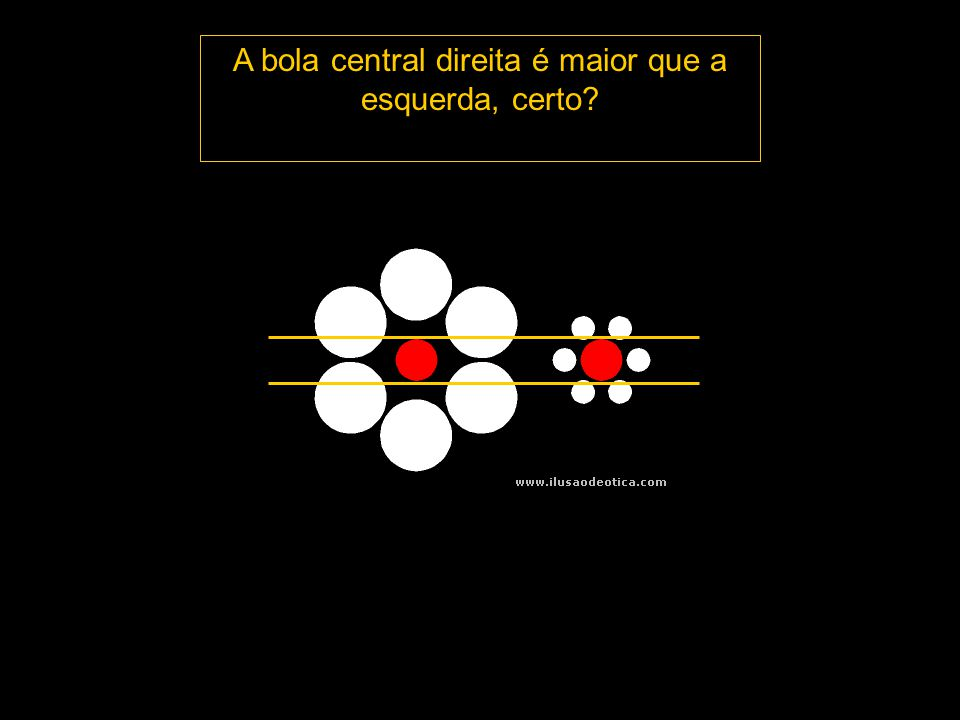 O arco preto forma um círculo com o arco azul ou com o vermelho? Clique para ver
