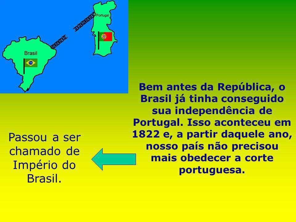 Desde 15 de novembro de 1889 o Brasil comemora a O marechal Deodoro da Fonseca comandou o movimento que mudou a forma de governo e que permite até hoj