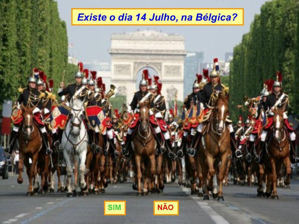 Existe o dia 14 Julho, na Bélgica? SIMNÃO