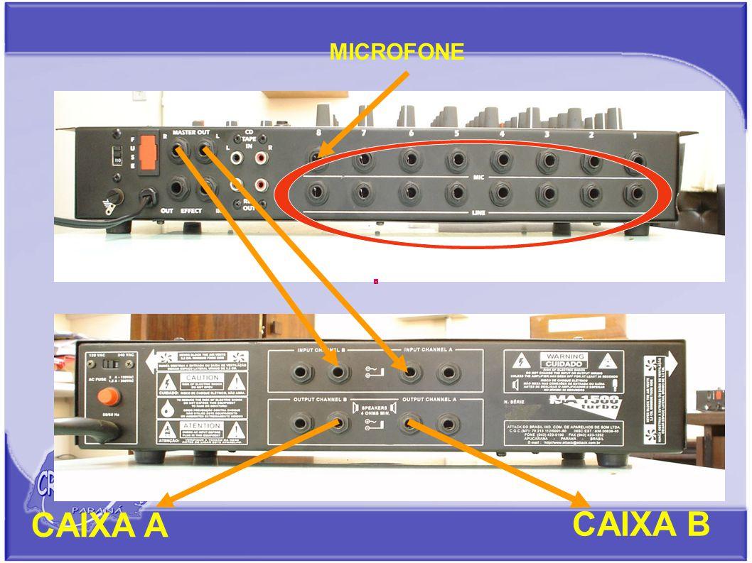 MICROFONE CAIXA B CAIXA A