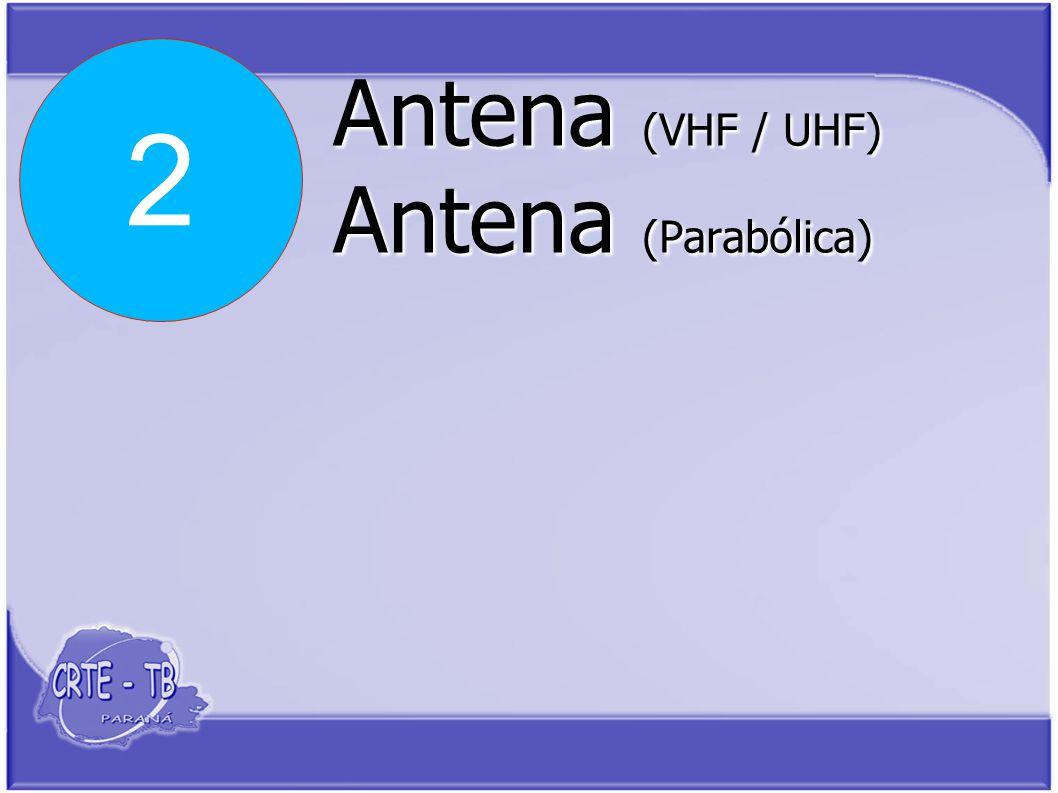 Antena (VHF / UHF) Antena (Parabólica) 2