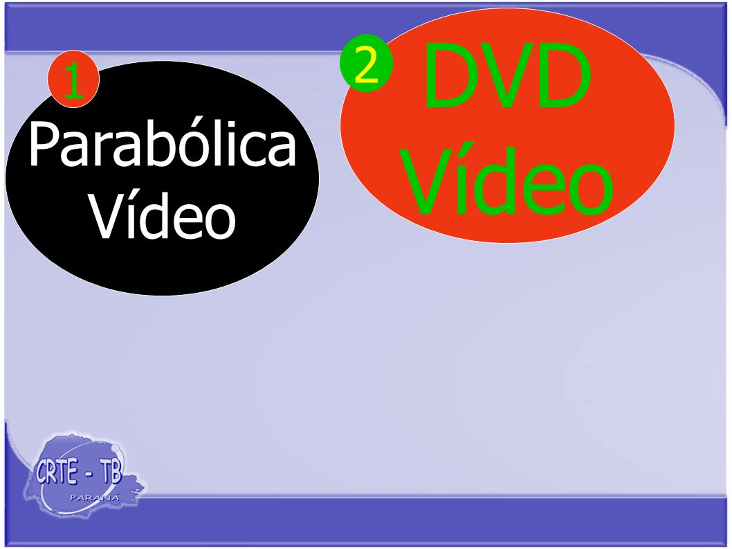 Parabólica Vídeo 1 DVD Vídeo 2