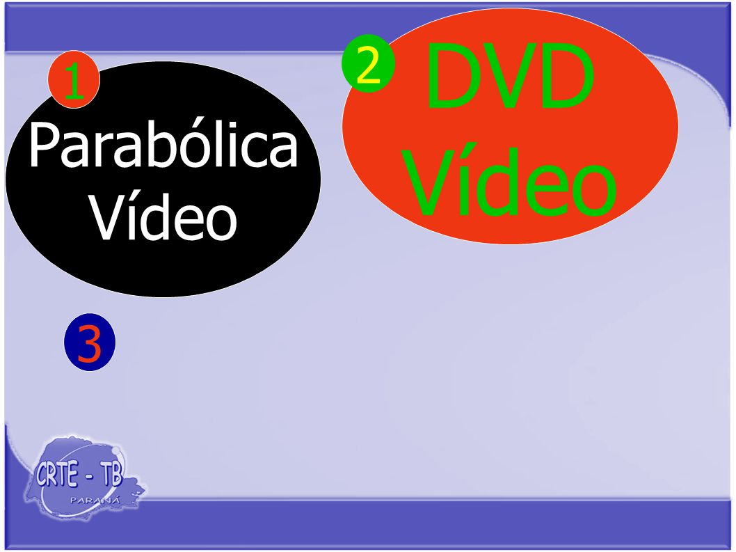 Parabólica Vídeo 1 DVD Vídeo 3 2
