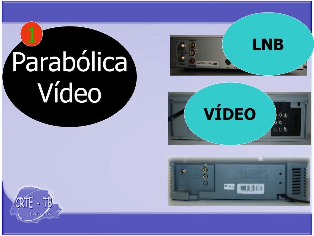 Parabólica Vídeo 1 LNB VÍDEO
