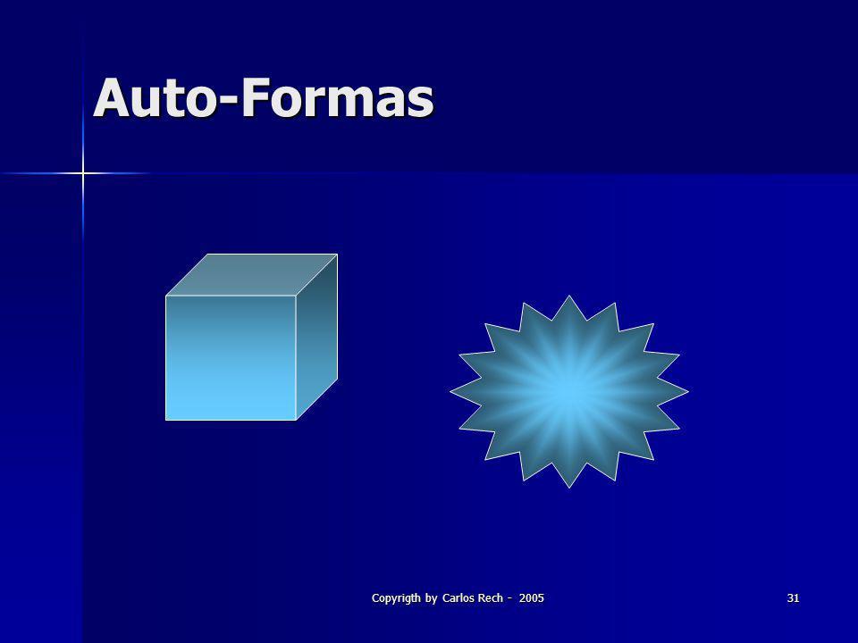 Copyrigth by Carlos Rech - 200531 Auto-Formas