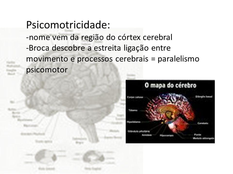 Conceito do corpo com o nascimento da psicomotricidade.