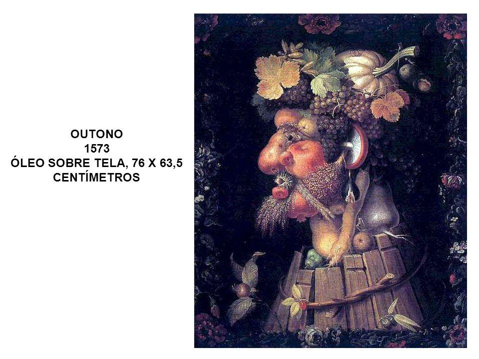 OUTONO 1573 ÓLEO SOBRE TELA, 76 X 63,5 CENTÍMETROS