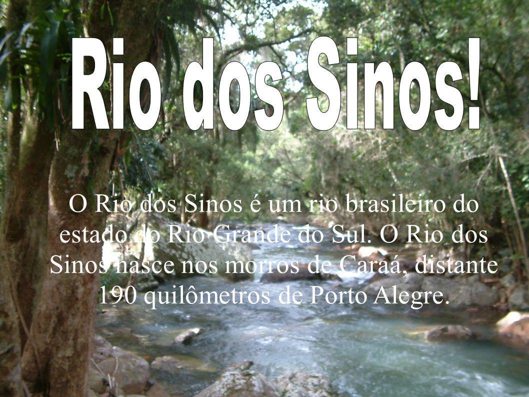 O Rio dos Sinos é um rio brasileiro do estado do Rio Grande do Sul. O Rio dos Sinos nasce nos morros de Caraá, distante 190 quilômetros de Porto Alegr