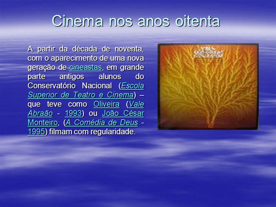Cinema nos anos setenta Nojo aos Cães – 1969, estreado em 1970 – proibido pela censura), Fernando Lopes (Uma Abelha na Chuva – 1971): com O Cerco, são