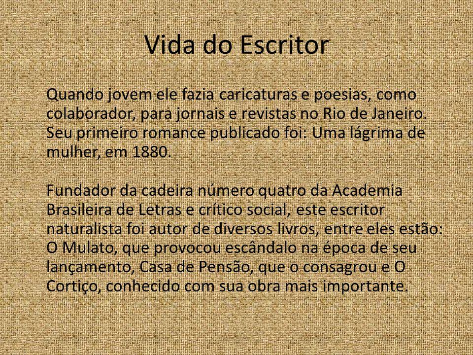 Vida do Escritor Quando jovem ele fazia caricaturas e poesias, como colaborador, para jornais e revistas no Rio de Janeiro.