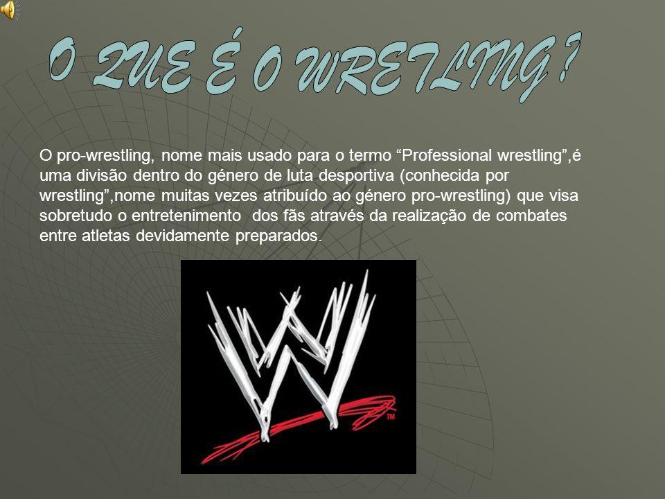 O pro-wrestling, nome mais usado para o termo Professional wrestling,é uma divisão dentro do género de luta desportiva (conhecida por wrestling,nome m