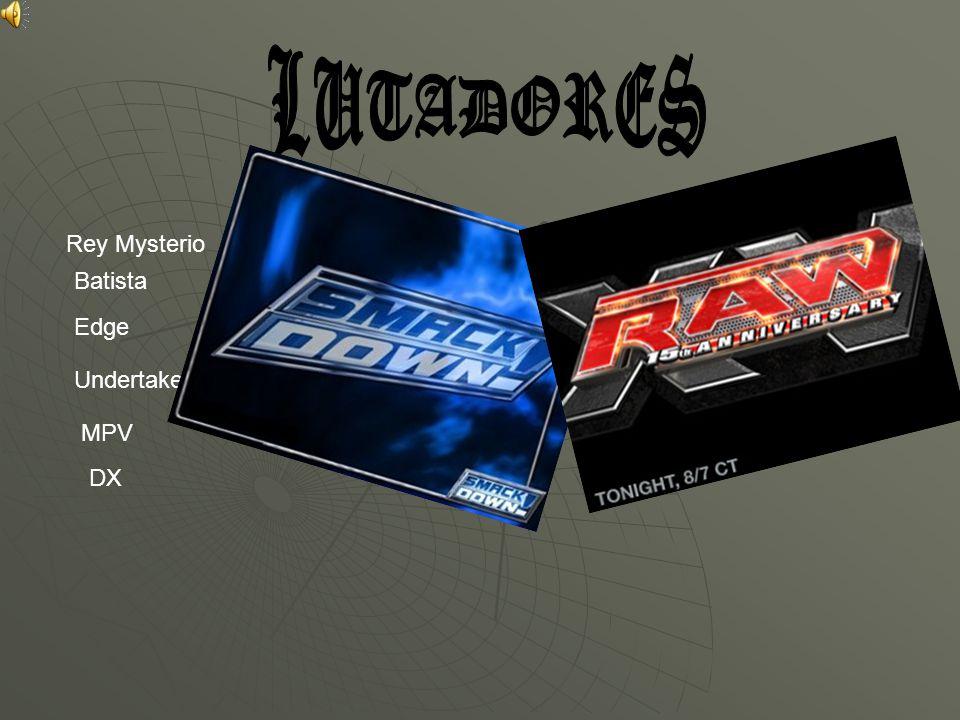 Rey Mysterio Batista Edge Undertaker MPV DX