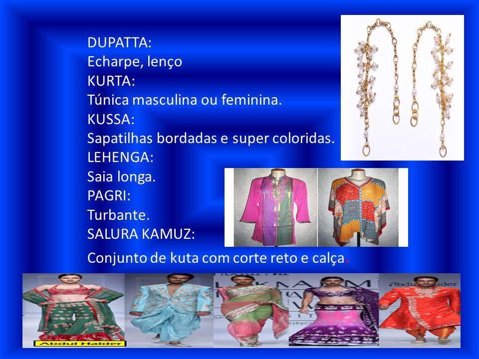 SARI: Vestimenta de tedência nobre usada palas mulheres casadas.