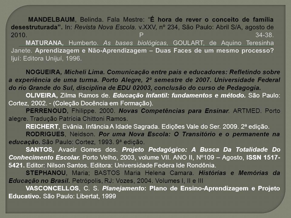 NOGUEIRA, Micheli Lima.