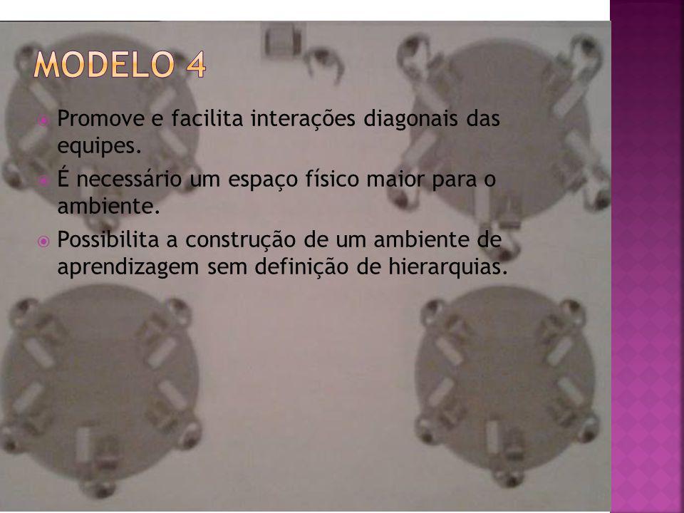 Promove e facilita interações diagonais das equipes.