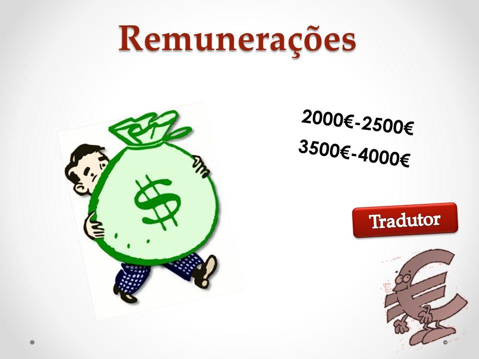 Remunerações 2000-2500 3500-4000