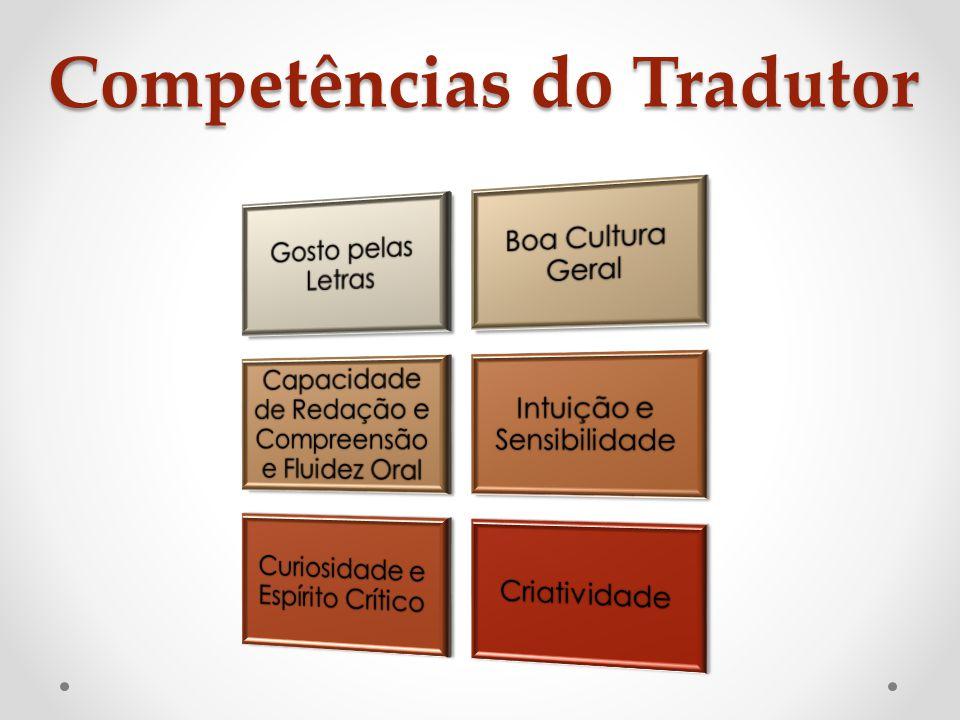 Competências do Tradutor