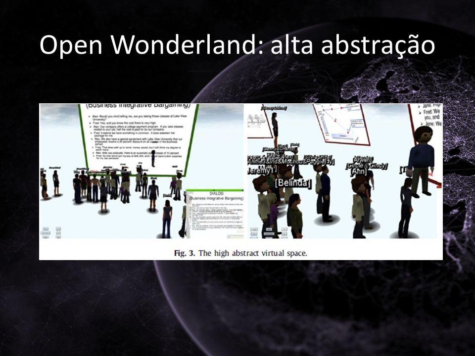 Open Wonderland: alta abstração