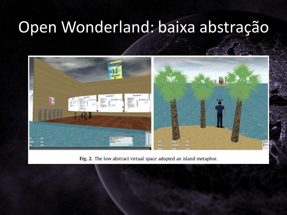 Open Wonderland: baixa abstração
