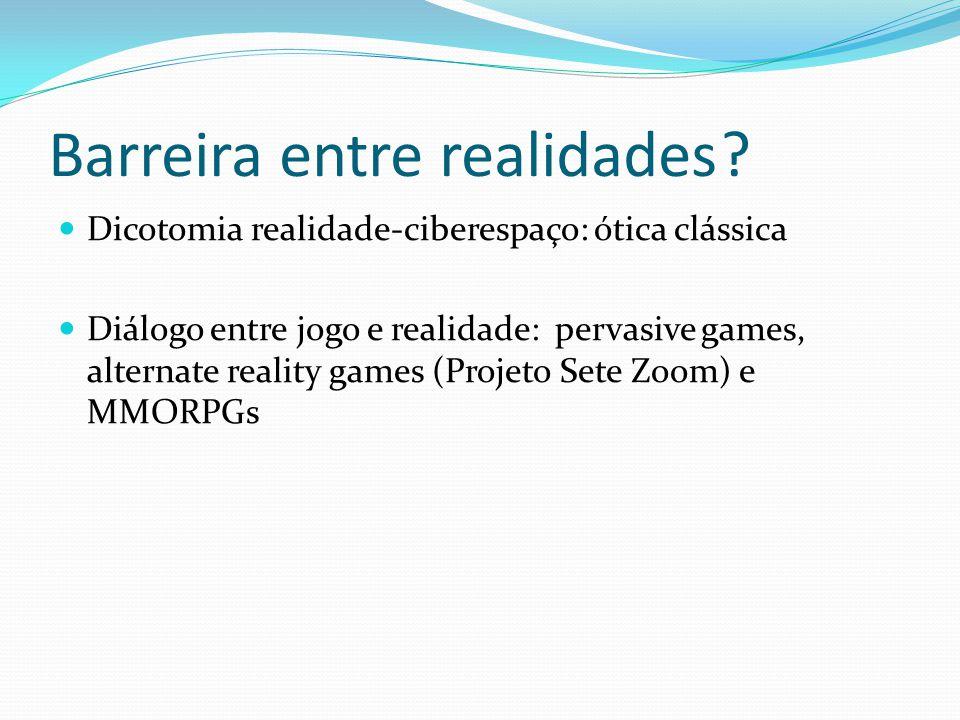 Redefinindo Círculo Mágico É um fator mediador que auxilia no diálogo do jogador para com o jogo e a realidade.
