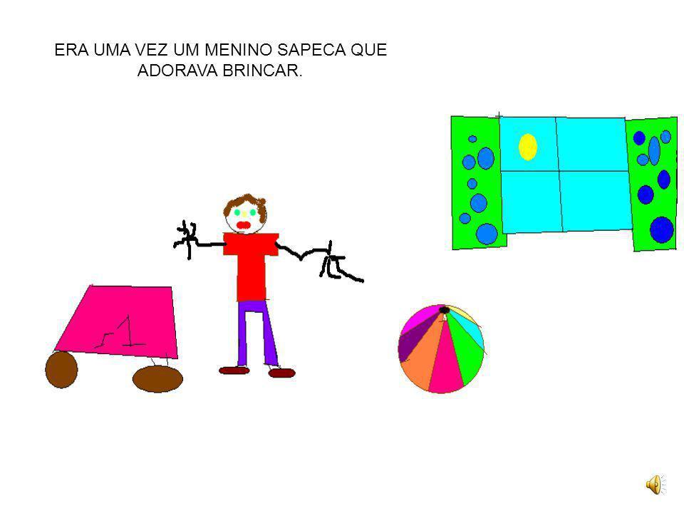 O MENINO SAPECA PROFESSORAS: Mônica W. Alves e Giórgia Berwanger PROFESSORA DE EDUCAÇÃO TECNOLÓGICA: Jaqueline Grassmann SÉRIE: 1ª A