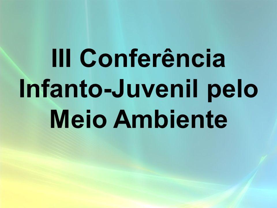 III Conferência Infanto-Juvenil pelo Meio Ambiente