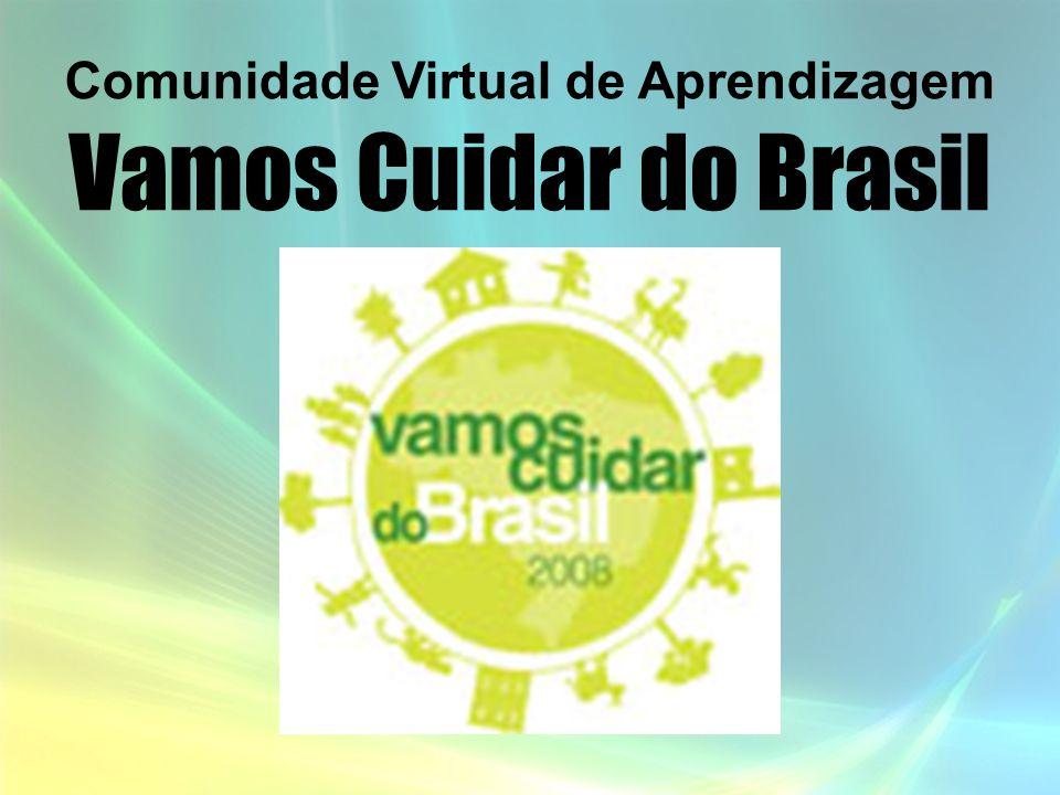 Comunidade Virtual de Aprendizagem Vamos Cuidar do Brasil