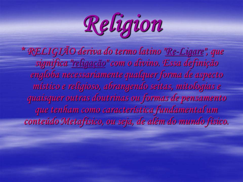 As religiões que aparecem no filme 2012 são várias.