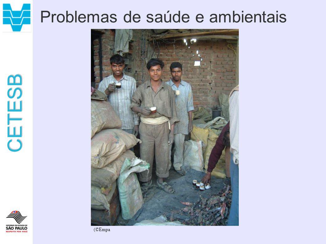 CETESB Problemas de saúde e ambientais (©Empa